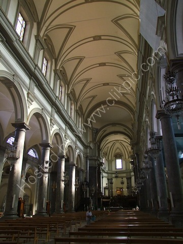 Inside San Domenico Church, Palermo