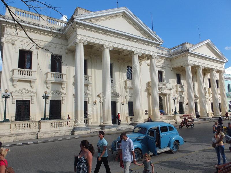 The Library Building, Parque Vidal, Santa Clara