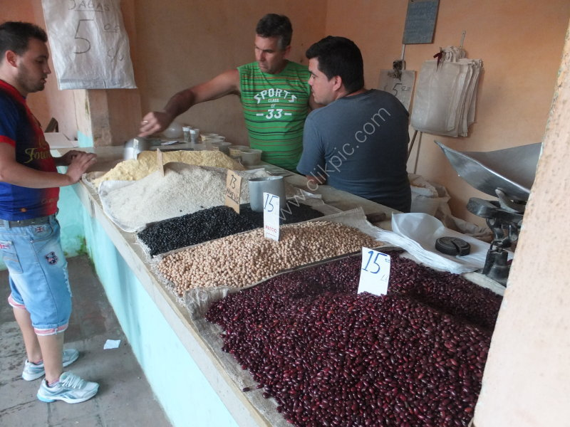 Different Types of Beans, Market, Santa Clara