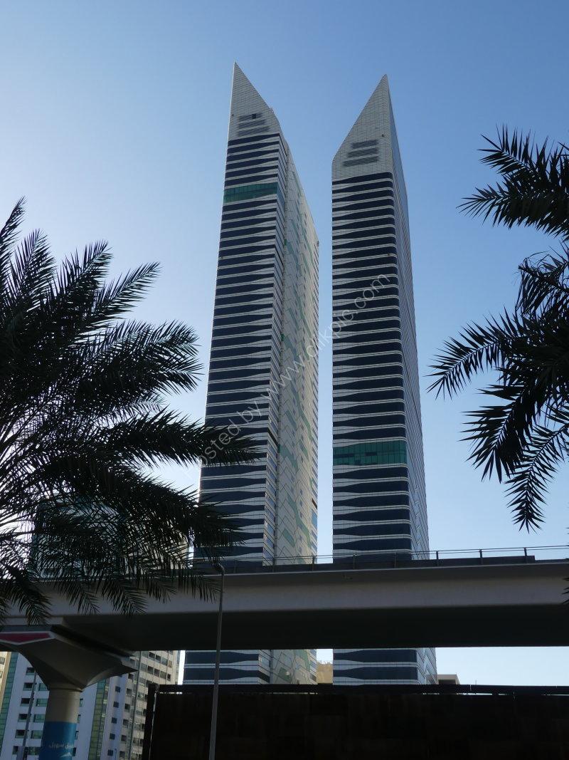 Two Skyscrapers, Sheik Zayed Road, Dubai 2019