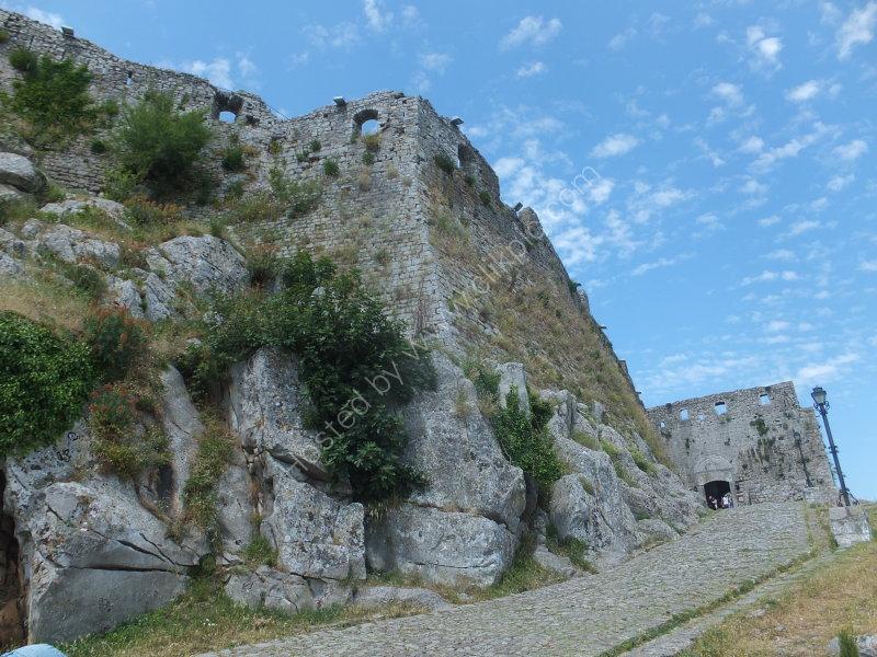 Entrance to Rozafar Castle
