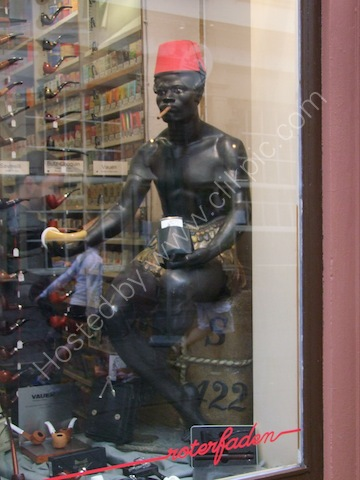 Tobacco Shop Dummy, Heidelberg