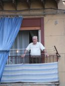 Sicilian Watching Passers By!, Palermo