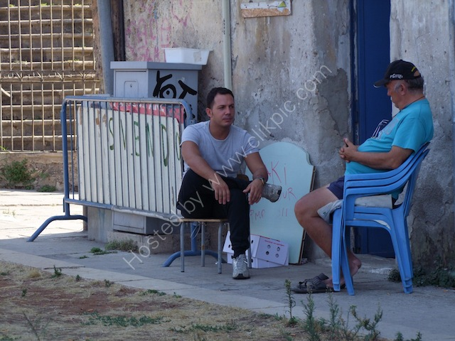 Sicilians Shooting the Breeze!, Palermo