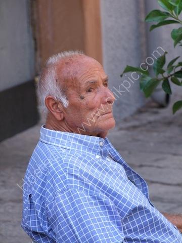 Sicilian Parking Attendant, Piazza S Anna, Palermo