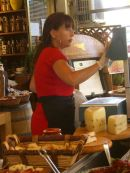Sicilian Lady, Food Market, Syracusa