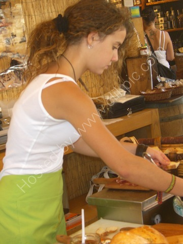 Sicilian Girl, Food Market, Syracusa