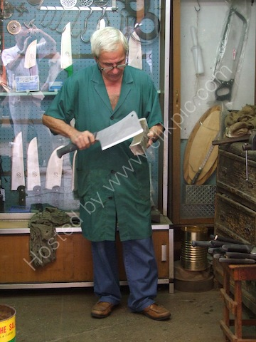 Sicilian Knife Sharpener, Palermo