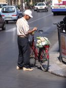 Sicilian with Bicycle, Palermo