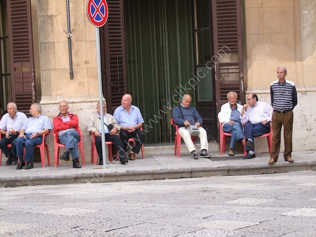 Sicilians, Cathedral Square, Monreale