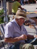 Sicilian Artist, Cathedral Square, Monreale