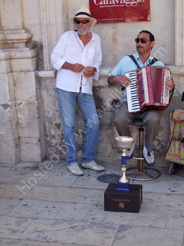 Sicilian Musicians, Piazza Duomo, Ortygia Island, Syracusa