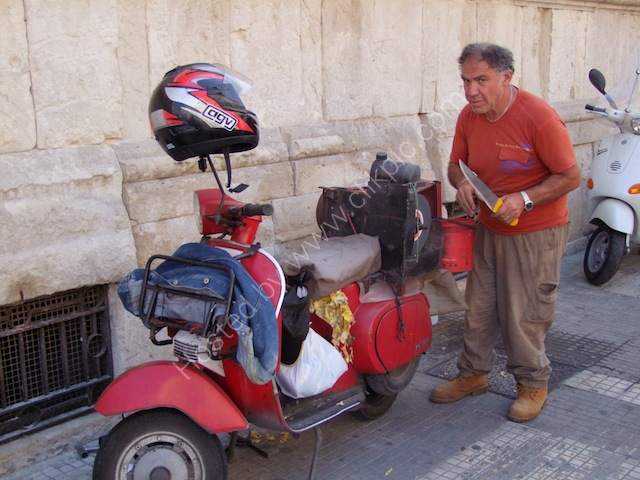 Sicilian Mobile Knife Sharpener, Syracusa