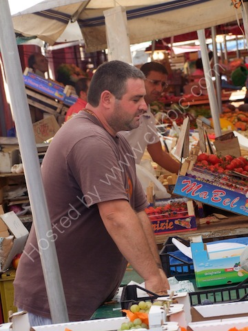 Sicilian, Food Market, Syracusa