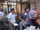 Sicilians Chatting, Food Market, Syracusa