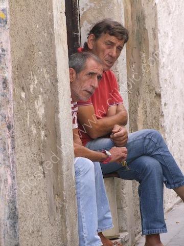 Sicilians Chatting, Ortygia Island, Syracusa