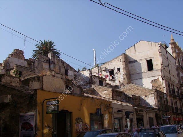 Buildings Damaged by World War II, Palermo