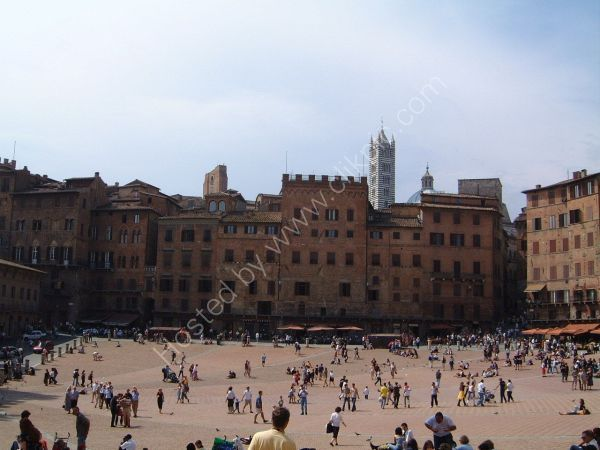 Piazza del Campo, Sienna, Tuscany