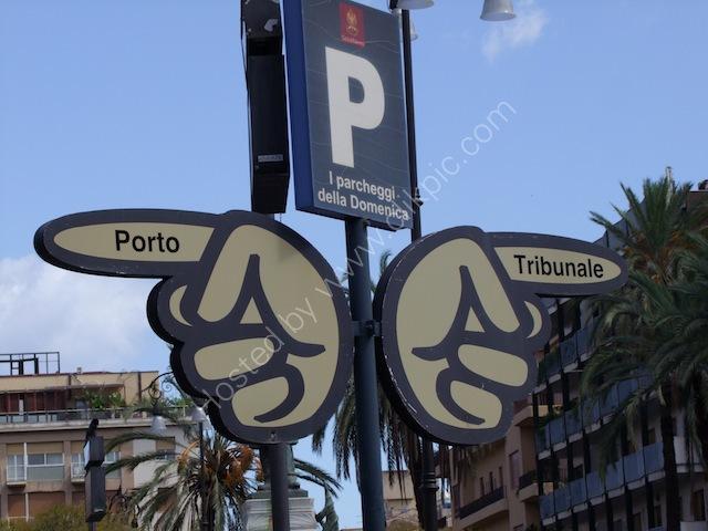 Street Signage, Palermo