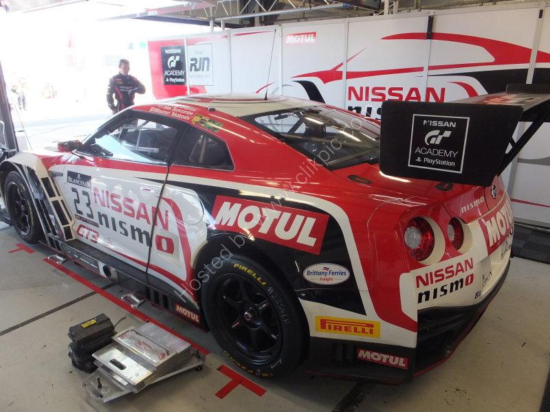 Nissan Racing Car
