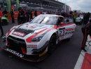 Nissan Racing Car on the Grid