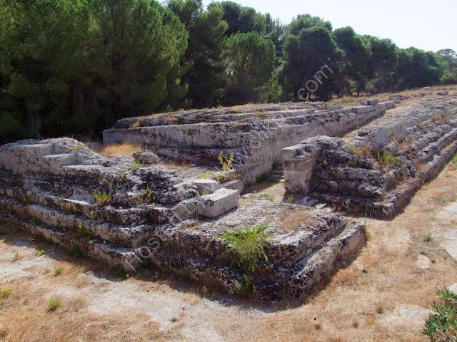 Altar of Hieron II, Syracusa