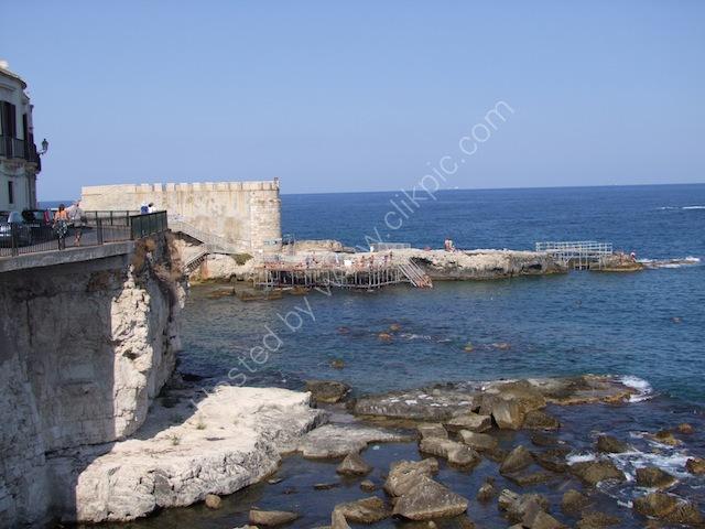 Forte Vigilena, Ortygia Island, Syracusa