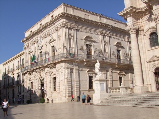 Government Building, Piazza Duomo, Ortygia Island, Syracusa