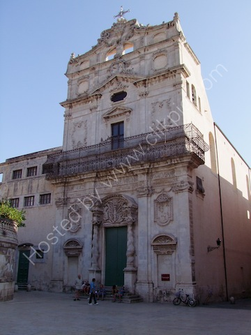 Church, Piazza Duomo, Ortygia Island, Syracusa