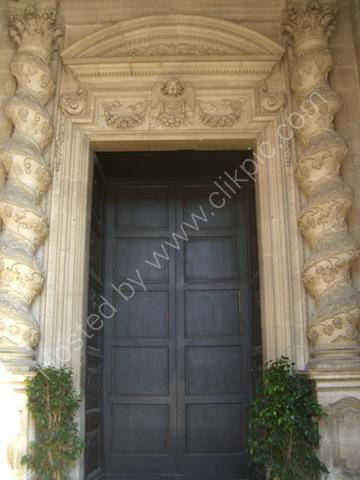 Cathedral Door Detail, Piazza Duomo, Ortygia Island, Syracusa