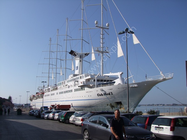 Club Med2 Ship, Syracusa