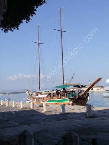 Local Wooden Boat, Syracusa