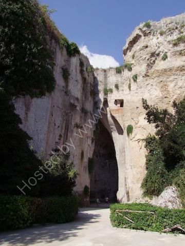 Orecchio di Dioniso, Latomie - Stone Quarry, Syracusa