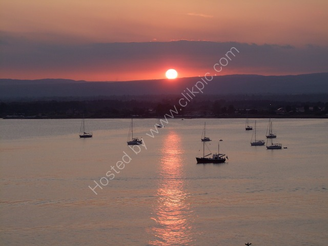 Sunset, Syracusa