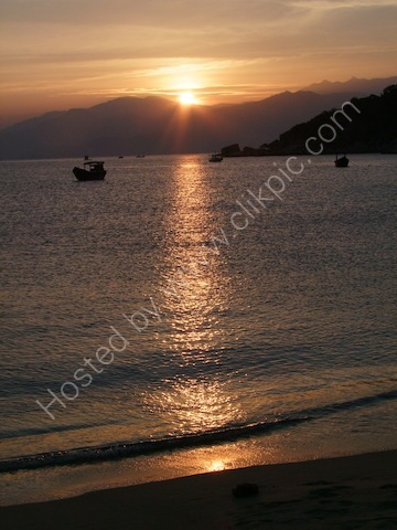 Sunset, Six Senses Nin Van Bay, Nhah Trang