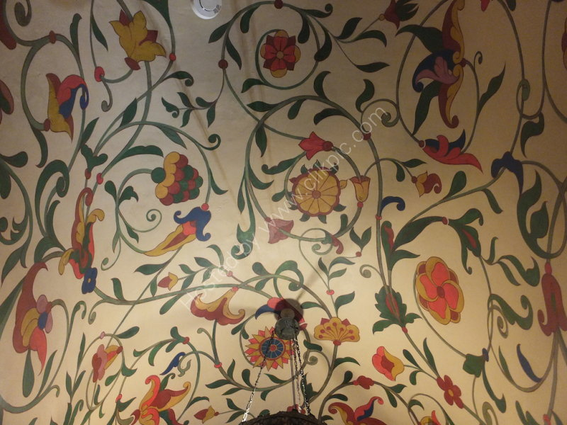Ceiling Paintings, St Basil's Cathedral, Red Square
