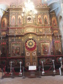 Main Iconostasis Baroque, St Basil's Cathedral, Red Square