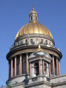 Dome of St Isaac'x Cathedral, St Petersburg