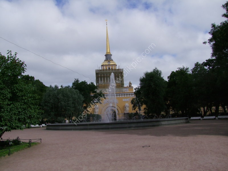 Admiralty Building & Fountain, St Petersburg