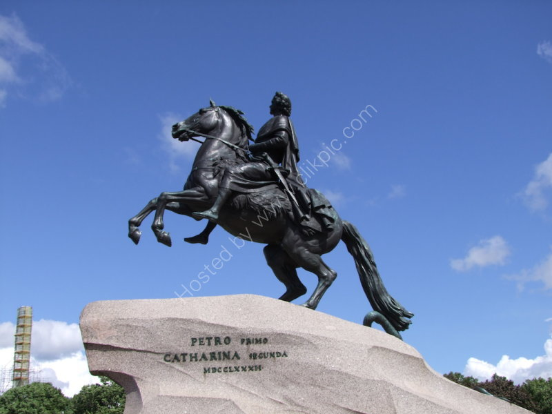 Peter the Great Monument, St Petersburg