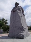 Statue of Karl Marx, Moscow