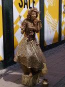 Golden Girl blowing a kiss!
