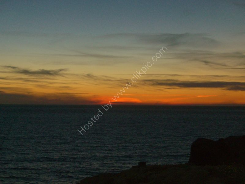 Sunset from Grotto of Hercules, Tangier