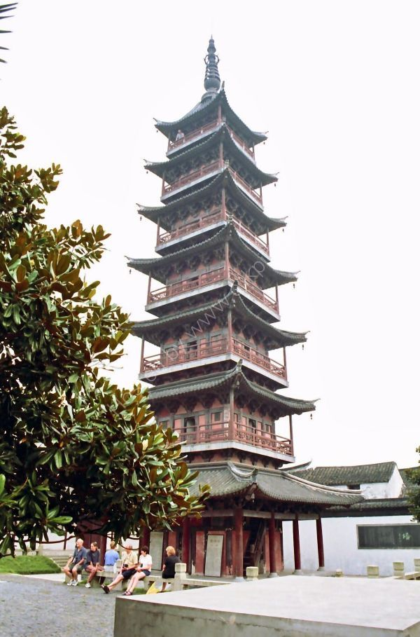 Tiger Hill Leaning Pagoda, Suzhou