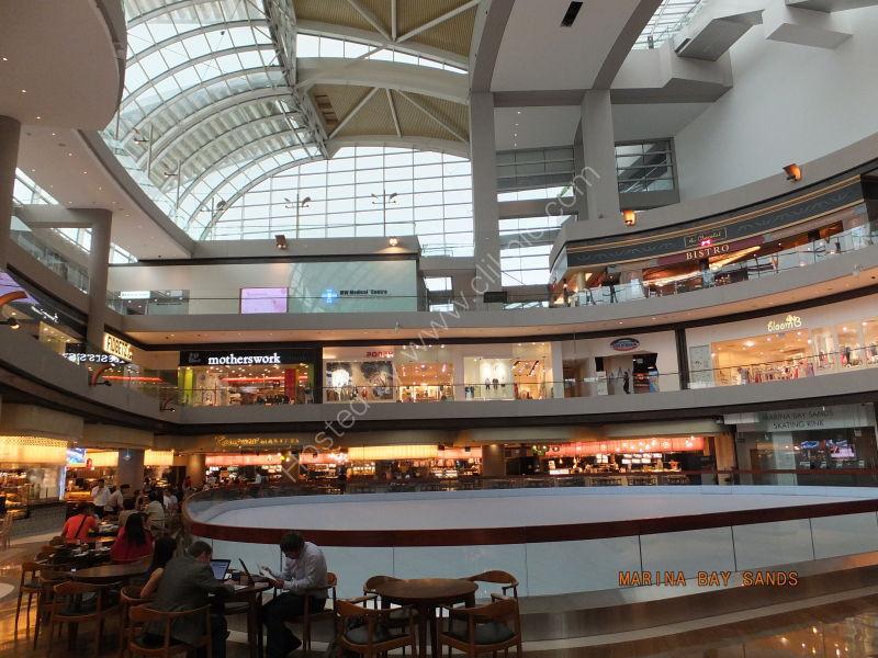 Marina Bay Sands Shopping Centre & Ice Rink