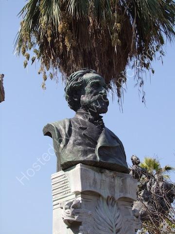 Bronze of Verdi, Theatre Massimo, Palermo