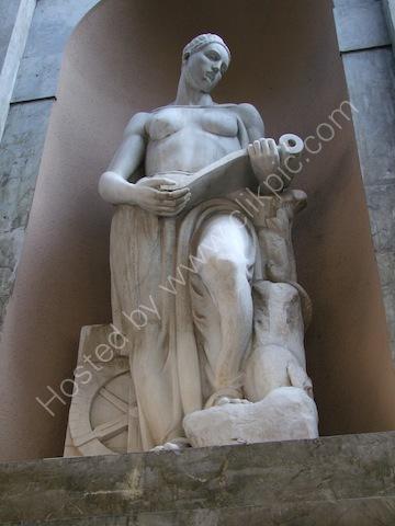 Marble Statue, Theatre Massimo, Palermo