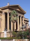 Main Entrance, Theatre Massimo, Palermo