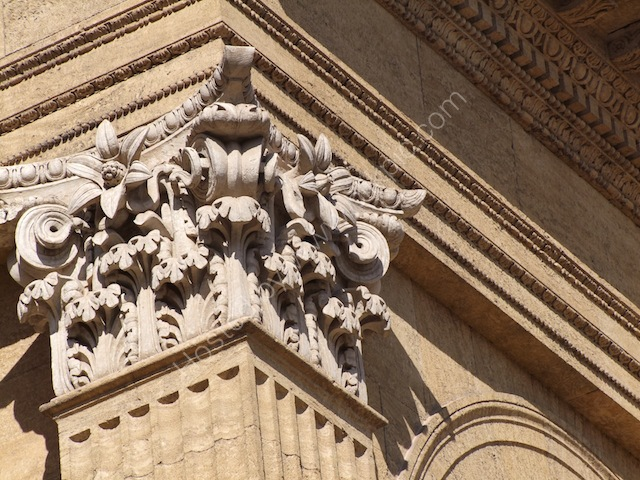 Column Detail, Theatre Massimo, Palermo