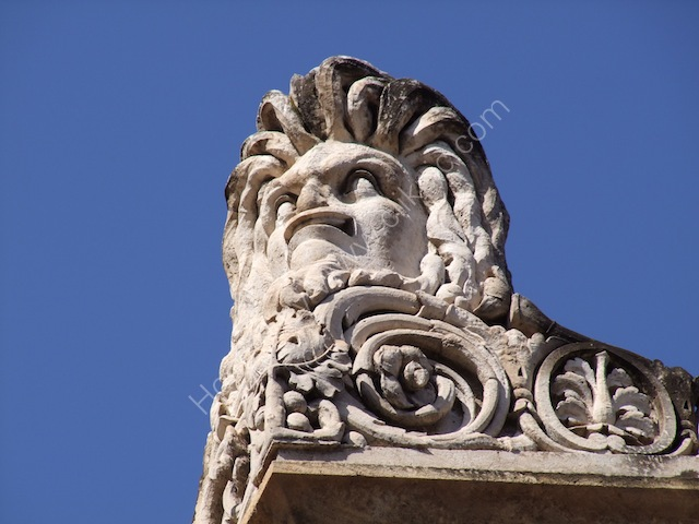 Roof Detail of Main Entrance, Theatre Massimo, Palermo